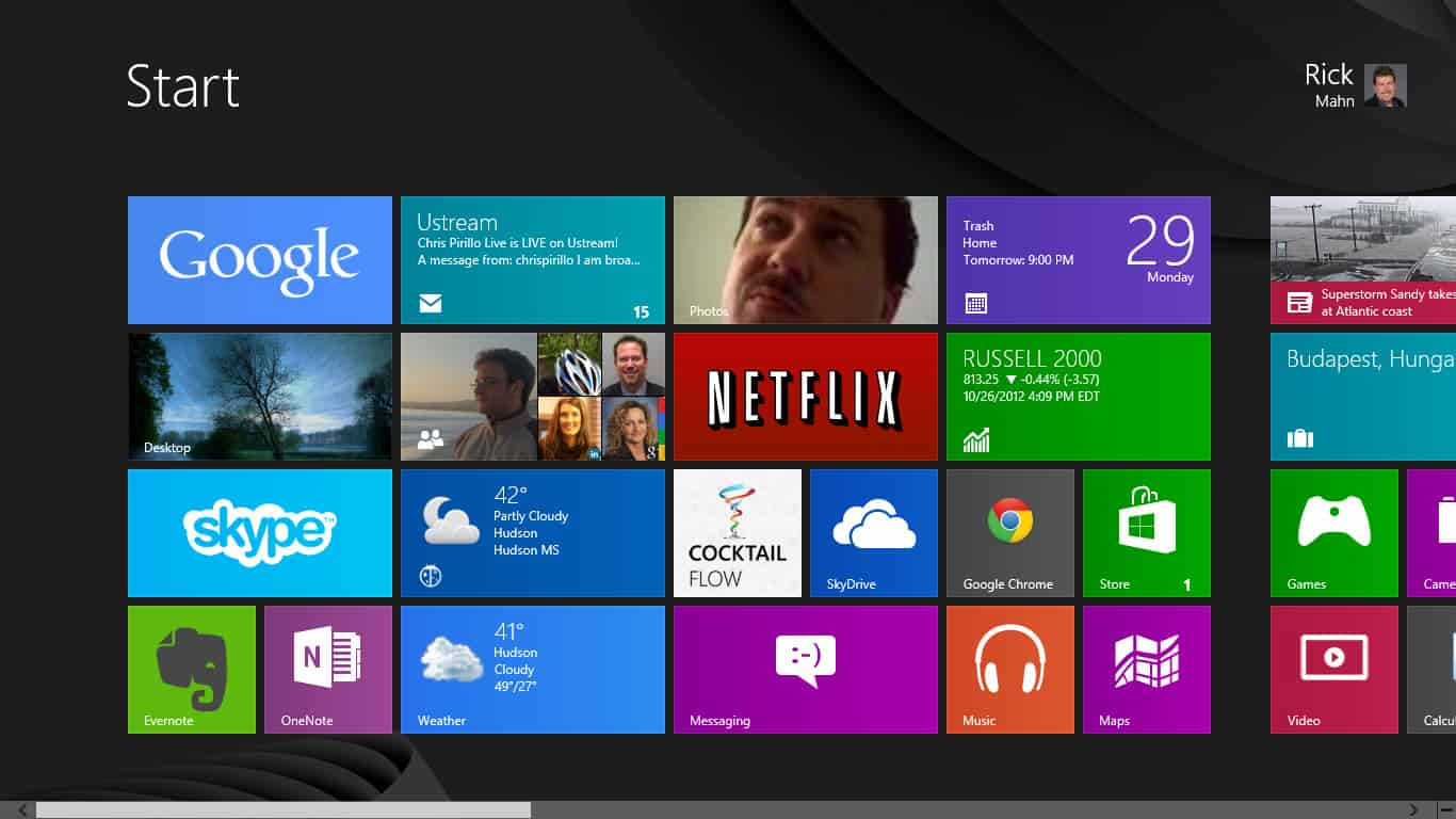Windows 8 Desktop Star...